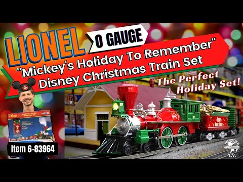 "Lionel ""Mickey's Holiday To Remember"" Disney Christmas LionChief Set"