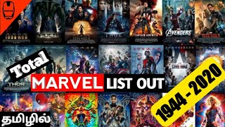 All Marvel Movies (1944 - 2020) in Tamil   Best Hollywood Movies in Tamil Dubbed   Dubhoodtamil