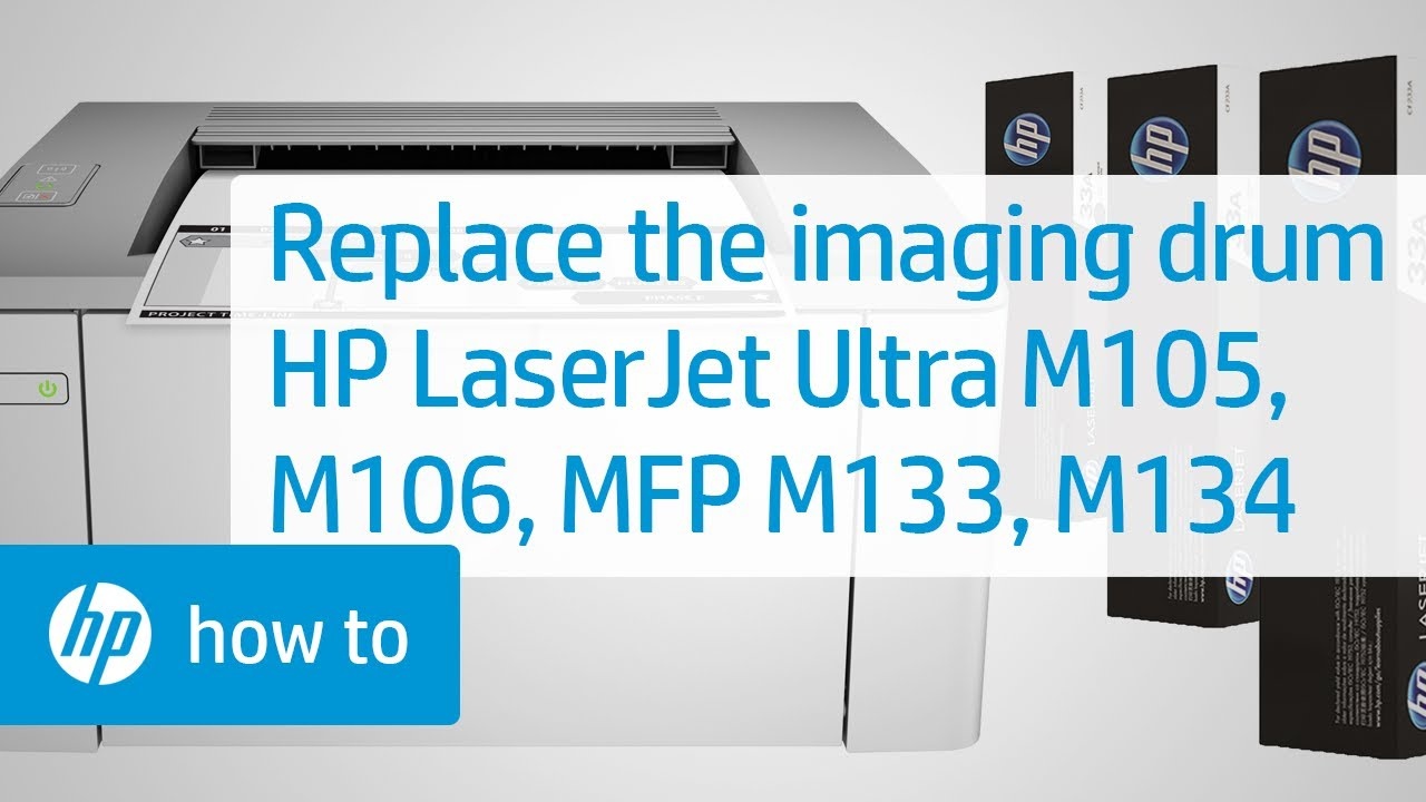Replacing The Imaging Drum On Hp Laserjet Printers Tinta Sun Refill Kit Black And Colour Hpsupport Hplaserjet