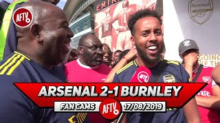 Arsenal 2-1 Burnley | We Need Lacazette & Aubameyang To Sign New Deals! (Livz)