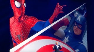 Marvel Land with Spider-Man, Avengers announcement for Disneyland Resort - D23 Expo 2017