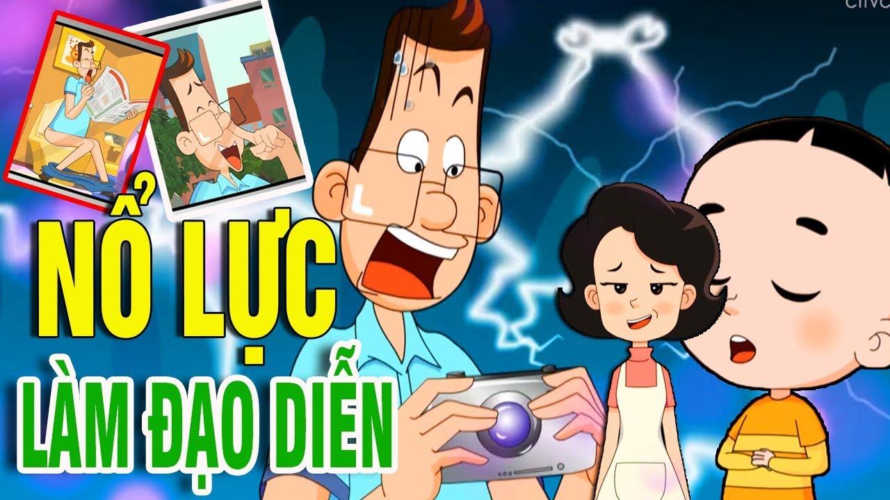 Hoạt hình vui nhộn hay nhất 2019: Học Làm Đạo Diễn - Phim hoạt hình thiếu nhi