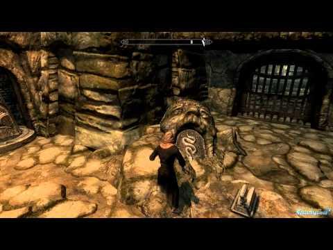 Skyrim Bleak Falls Barrow Pillar Puzzle Solution Video Tutorial