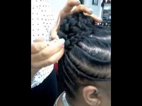 Stuffed Or Flat Twist With Extensions Youtube