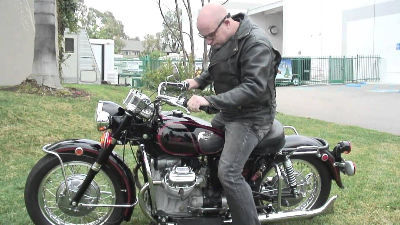 1971 moto guzzi ambassador police (sold) - youtube