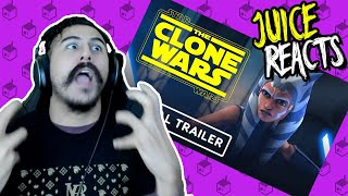 Star Wars: The Clone Wars - Final Season Official Trailer Reaction!