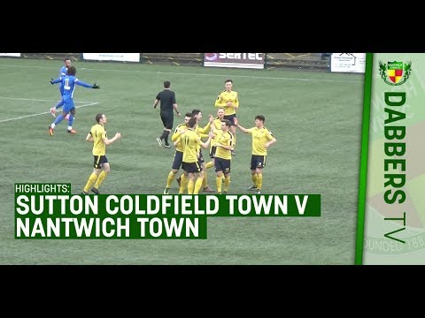HIGHLIGHTS: Sutton Coldfield Town 1-3 Nantwich Town