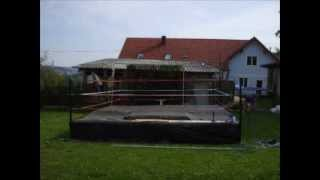 AWE Wrestling Ring