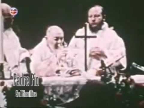 Ultima Missa de Padre Pio.