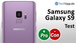 Samsung Galaxy S9   Test (deutsch) mit Unboxing, Fotos, Video, Audiocheck, Ausstattung etc.