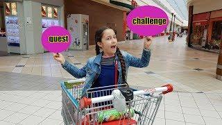QUEST CHALLENGE DANS UN MAGASIN! CAP OU PAS CAP?