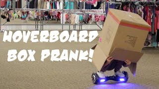 HOVERBOARD BOX PRANK IN STORES [Kicked Out]