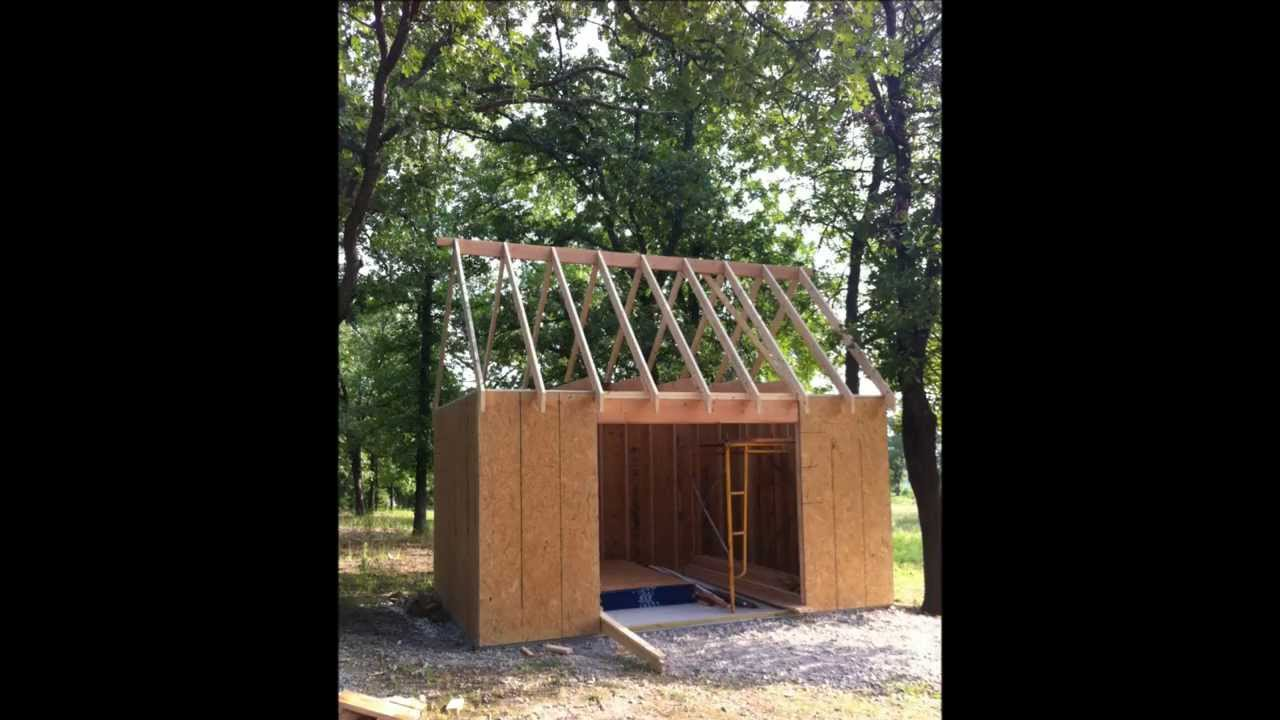 Diy Shed Project 12x16 Youtube