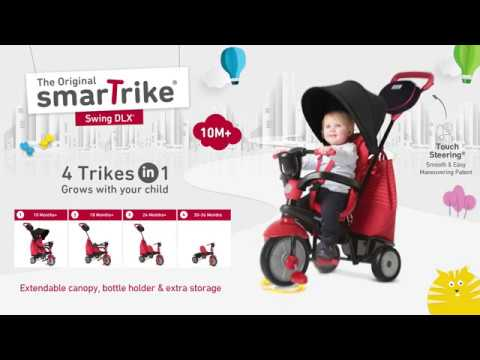 The New 4 In 1 Baby Trike By Smartrike Swing Dlx