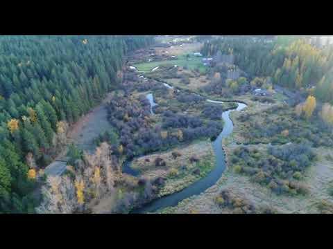 4K Ultra HD Drone Footage On Little Spokane River
