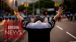 Hong Kong protests: On the frontline - BBC News
