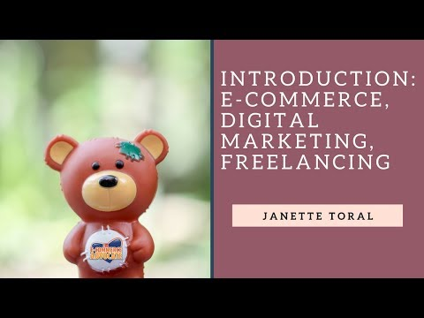 Introduction to E-Commerce, Digital Marketing, Freelancing (Lesson 1)