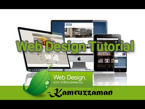 Web design, The 1st class freelancing job । Learn Web Design