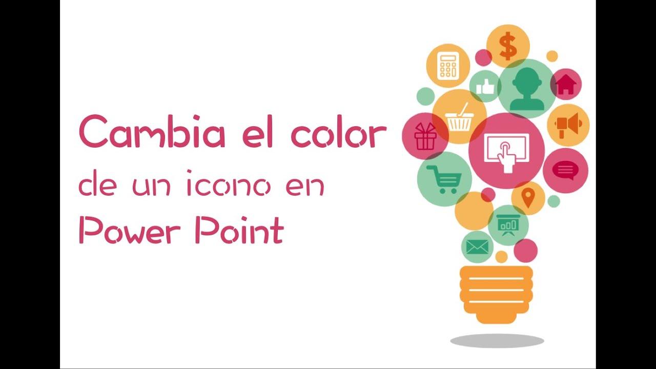 Cómo Cambiar El Color De Un Icono En Power Point