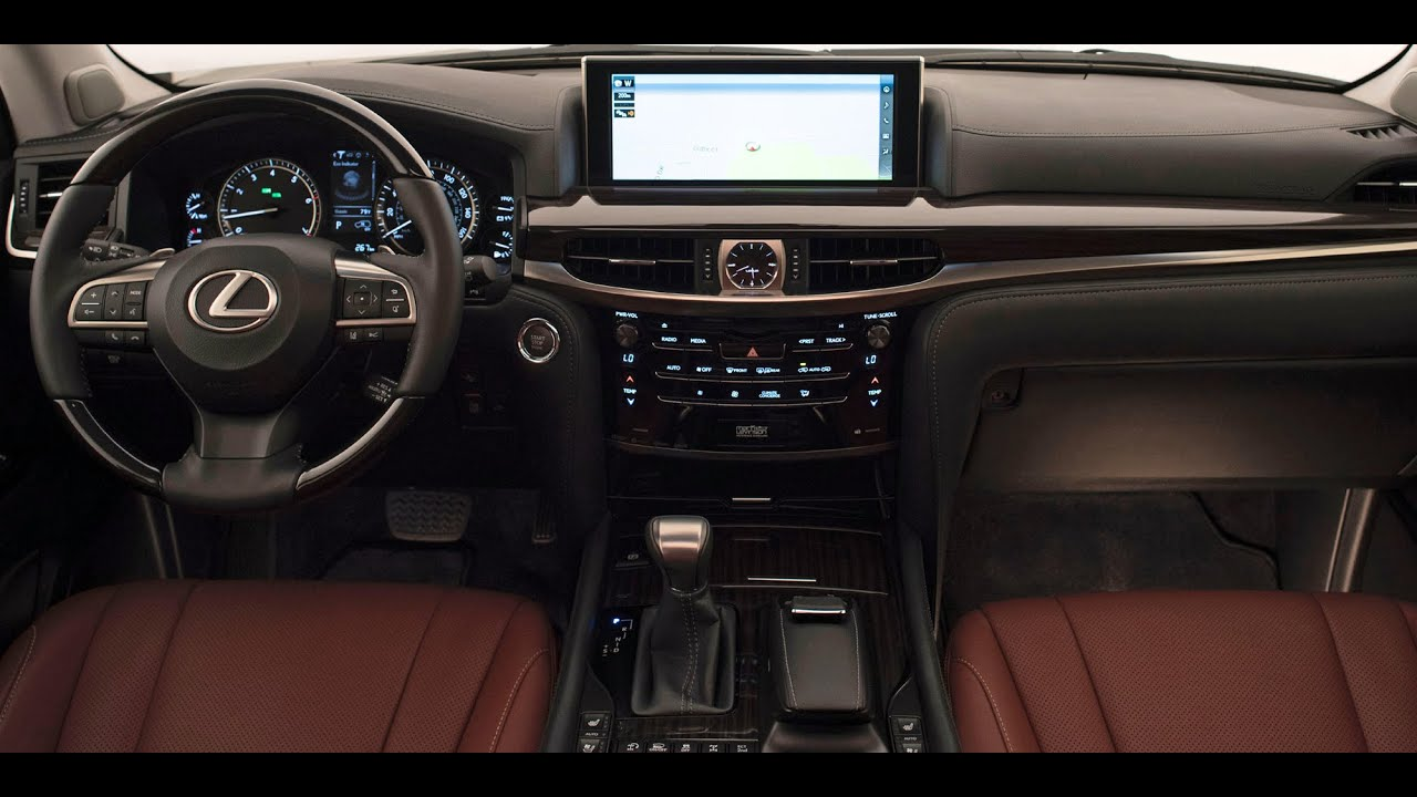 2016 lexus lx 570 interior youtube