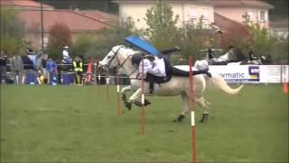 Pony Mounted Games 2012 - Licorne du Mas & Violaine. ♥
