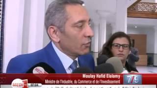 "Laurent Fabius qualifie d'""utile et de positive"" sa visite au Maroc"