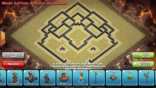 Clash Of Clans - HDV 8 - GDC - Propulseur d'air