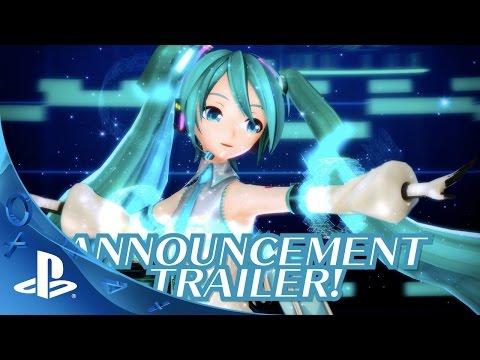 Hatsune Miku: Project Diva X - Announcement Trailer | PS4