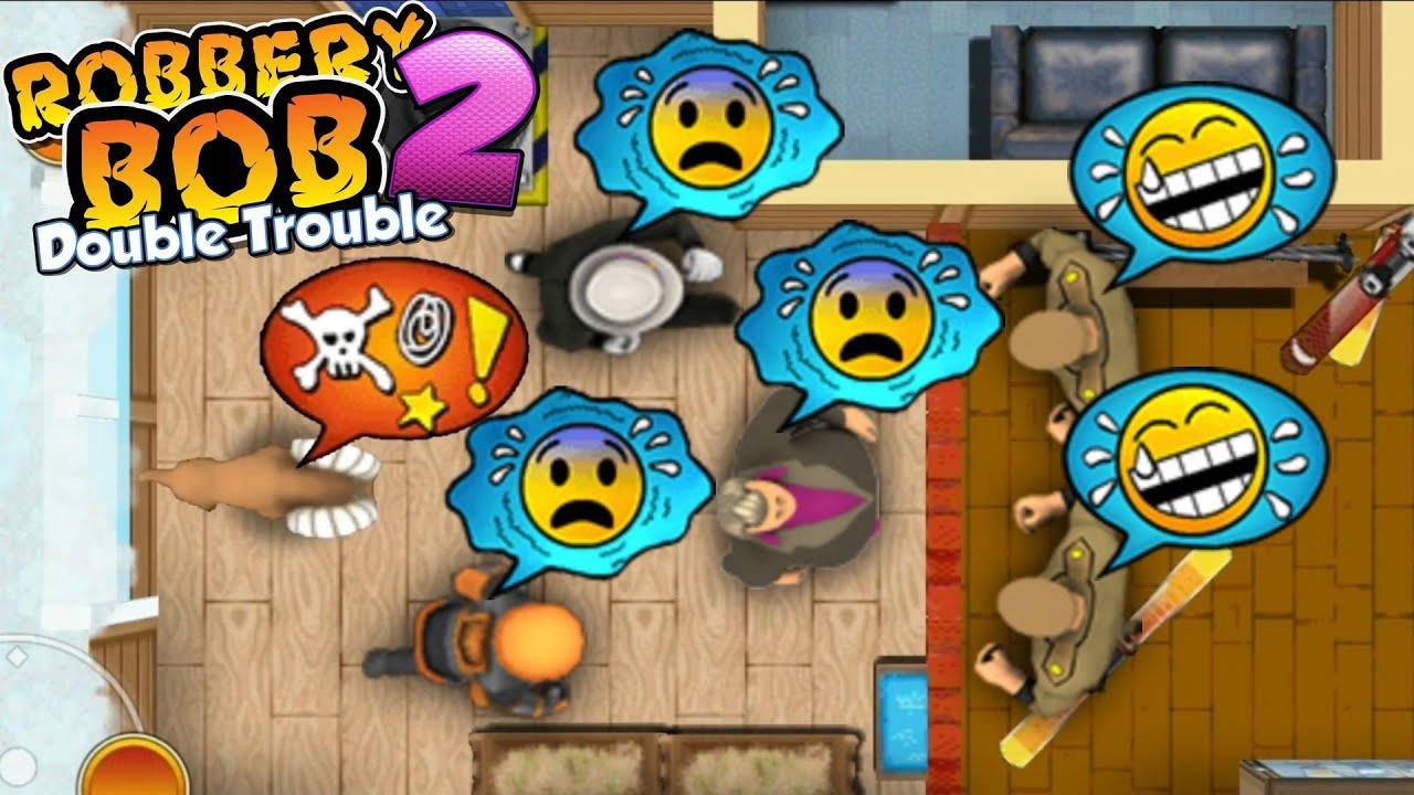 Download Robbery Bob - Don vs Hazmat Bob vs Stylish Bob Perfect Gameplay #34