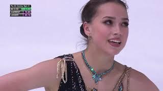 Алина Загитова Гран при Internationaux de France Произвольная программа