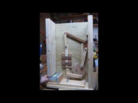 Geocache Marble Lock Mechanism