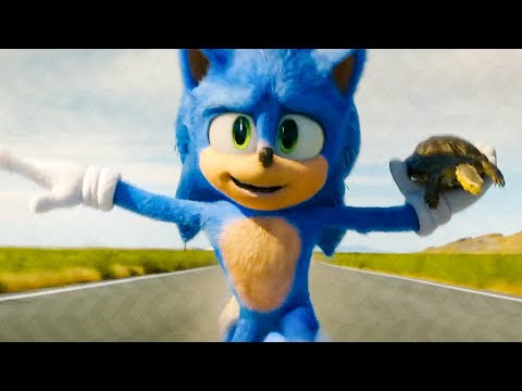 Sonic Rescues A Turtle Scene - SONIC: THE HEDGEHOG (2020) Movie Clip