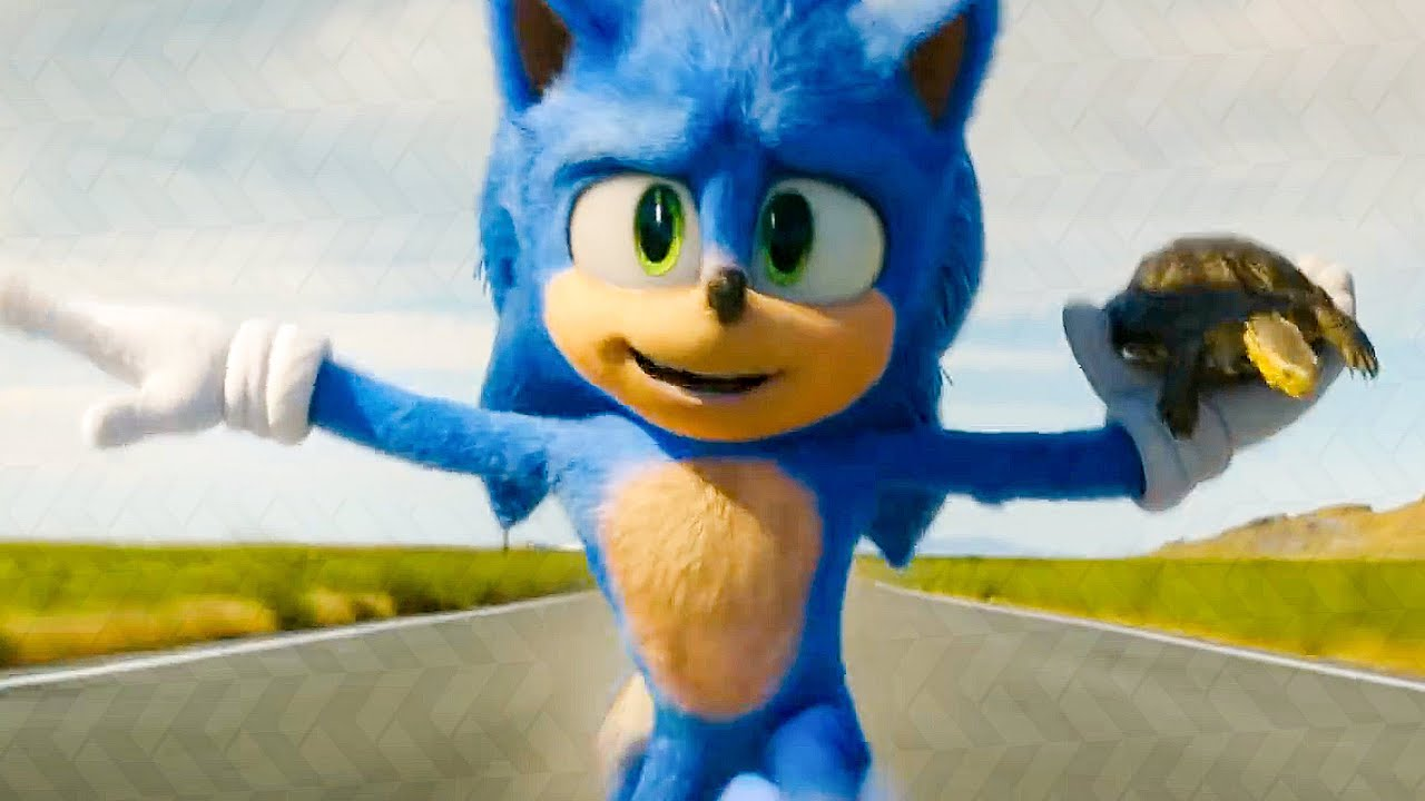 Sonic Rescues A Turtle Scene Sonic The Hedgehog 2020 Movie Clip Youtube