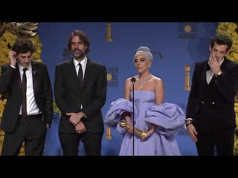 Lady Gaga & 'A Star Is Born' Songwriters - Golden Globes - Full Backstage Interivew
