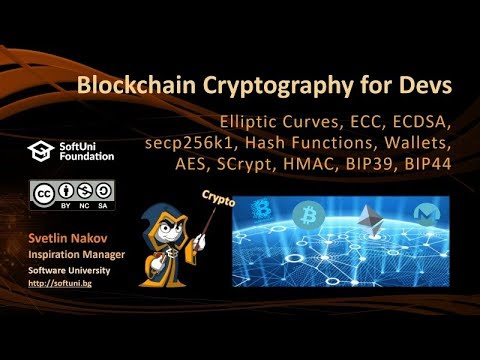Blockchain Cryptography for Developers