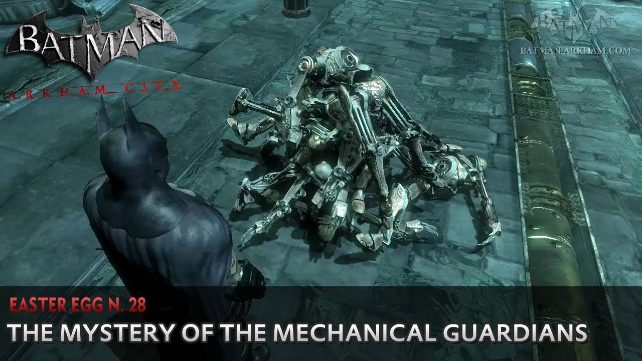 Batman Arkham City Easter Egg 28 The Mystery Of The