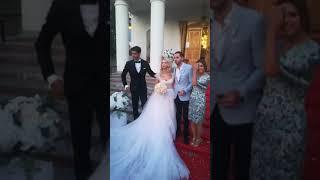 PRIMELE IMAGINI! Andreea Bălan, nunta si botez!