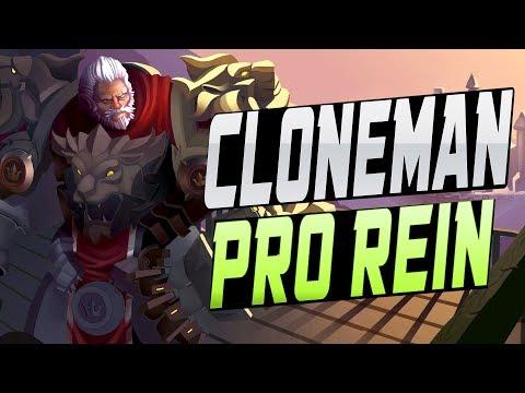 CLONEMAN16 PRO  REINHARDT! [ OVERWATCH SEASON 11 START ]