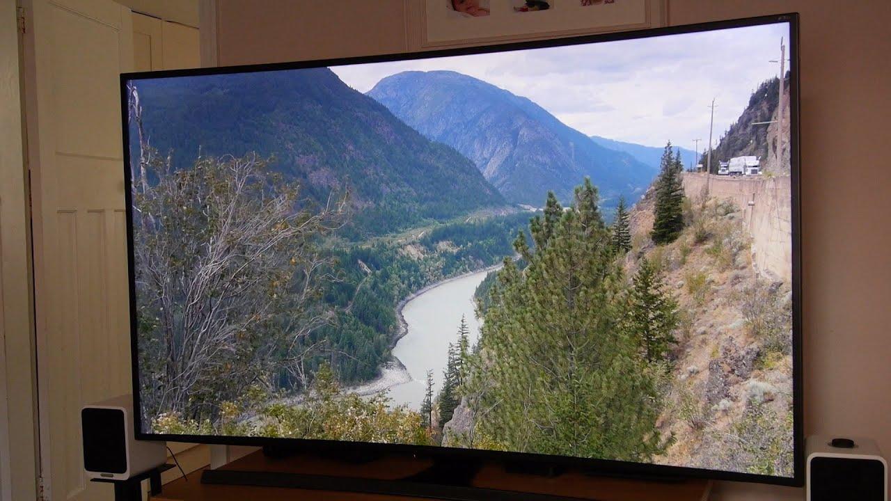 samsung ue65js8500 4k uhd tv review youtube. Black Bedroom Furniture Sets. Home Design Ideas