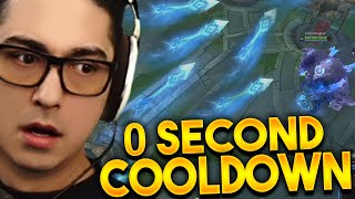 THIS ASHE HAS 0 SECOND ULT COOLDOWN ?!?!