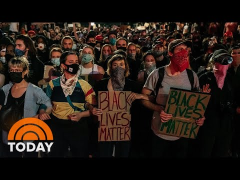 Protests Continue For 8th Night, But With Less Violence | TODAY