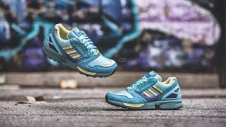 "Adidas ZX 8000 OG ""Light Aqua"": Review & On-Feet"