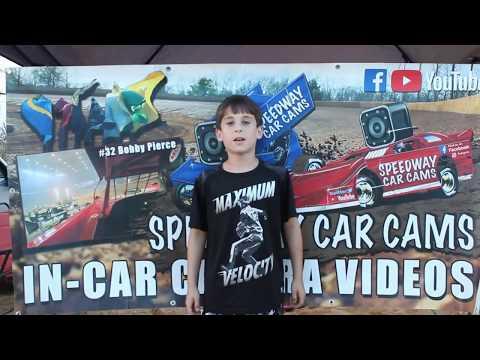 #32 Justin McGatha - 602 Sportsman - 9-22-18 Fort Payne Motor Speedway - In Car Camera