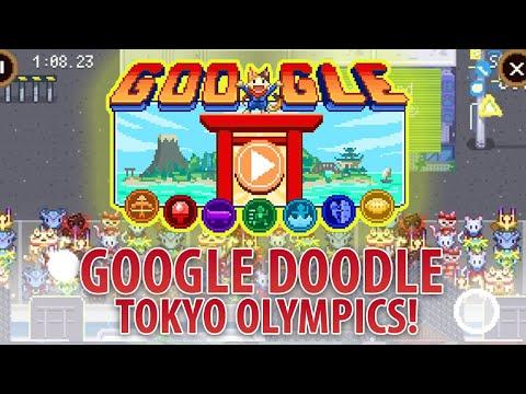 Google Doodle Champion Island Games 2021   TOKYO OLYMPICS Doodle Gameplay 1080P HD