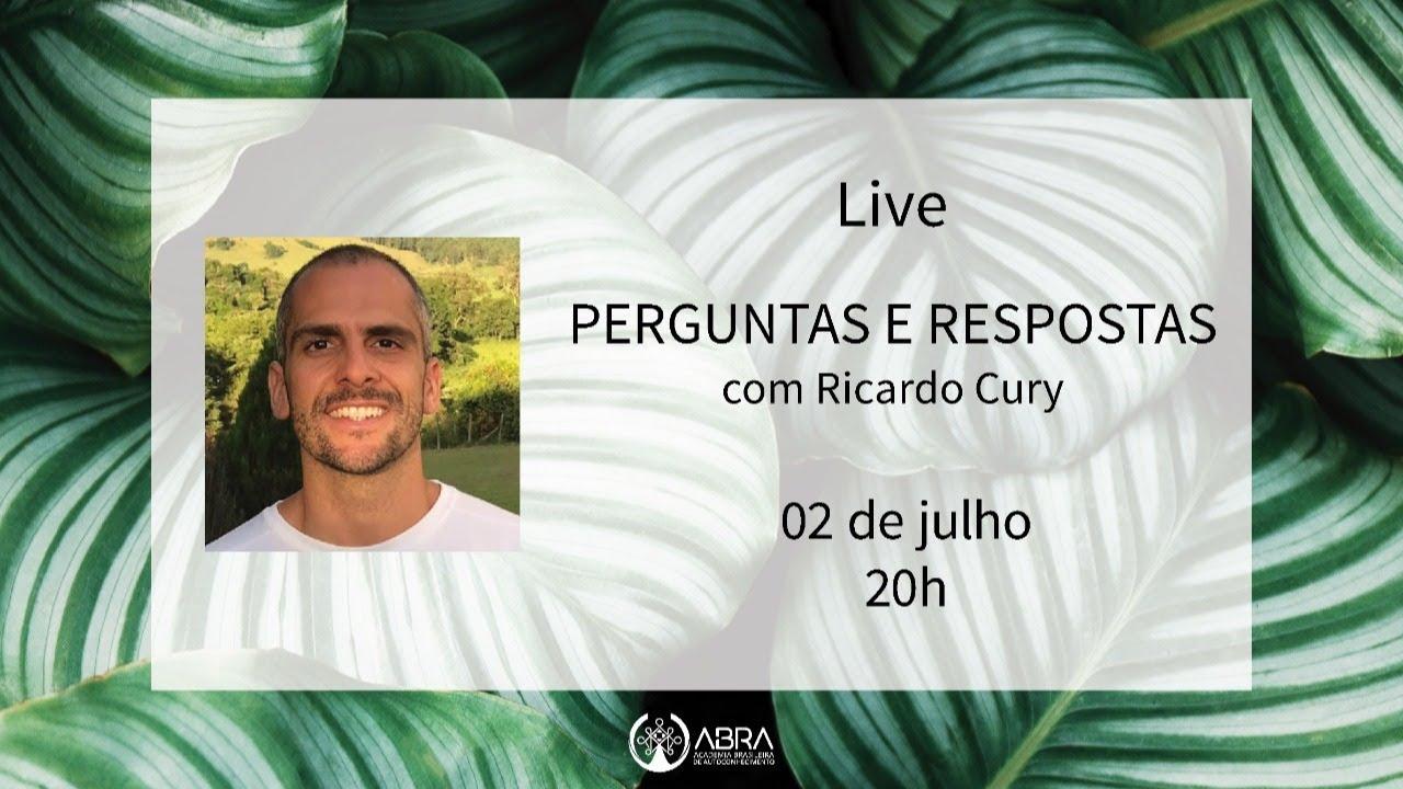 PERGUNTAS E RESPOSTAS COM RICARDO CURY
