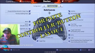 How To Change Fortnite Controller Layout! THE BEST FORTNITE BATTLE ROYALE CONTROLLER LAYOUT!