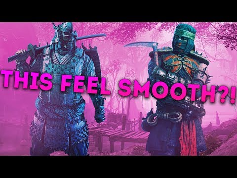 For Honor DEDICATED SERVERS! - KENSEI vs SHINOBI & NOBUSHI! - THIS FEELS SMOOTH?!