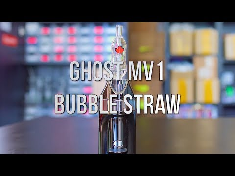 Ghost MV1 Bubble Straw – Product Demo | GWNVC's Vaporizer Reviews