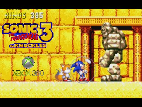 Sonic The Hedgehog 3 Knuckles Playthrough Xbox 360 Youtube