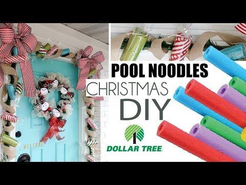 Dollar Tree Christmas 2019 | DIY CHRISTMAS DECOR | EASY  FRONT PORCH TOUR